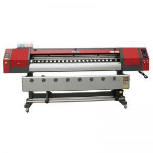 배너에 대 한 1800mm 5113 더블 머리 디지털 섬유 인쇄 기계 잉크젯 프린터 WER-EW1902