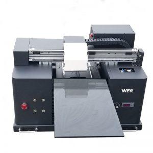 2017 싼 A4 크기 데스크탑 타블렛 uv 주도 평판 디지털 프린터 WER-E1080UV