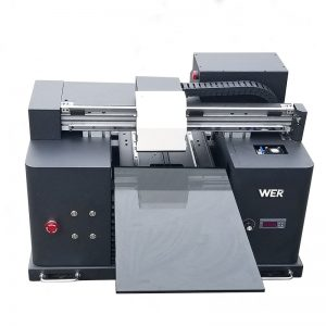 A4 사이즈 LY A42 디지털 자동 전화 케이스 UV 인쇄 평판 프린터 UV 평판 프린터, 6 색 인쇄 WER-E1080UV