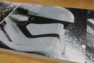 WER-G2513UV 대형 포맷 UV 프린터로 인쇄 된 빌보드