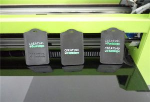 WER-EP6090UV에 의한 검은 절단 페룰 인쇄 견본