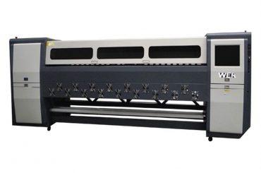 좋은 품질 K3404I / K3408I 솔벤트 프린터 3.4m 중장비 잉크젯 프린터