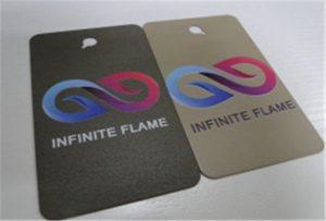 A1 UV 인쇄기 WER-EP6090UV에 금속 인쇄 견본