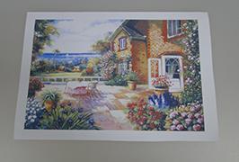 오일 캔버스 2.5m (8 피트) 에코 솔벤트 프린터 WER-ES2501 2