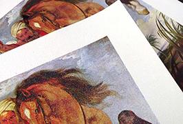 오일 캔버스 2.5m (8 피트) 에코 솔벤트 프린터 WER-ES2501 인쇄
