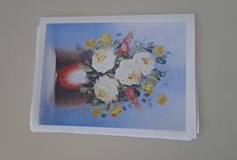 오일 캔버스 2.5m (8 피트) 에코 솔벤트 프린터 WER-ES2502 인쇄
