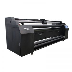 WER-E1802T 1.8m 직판 식 프린터, 2 * DX5 승화 프린터
