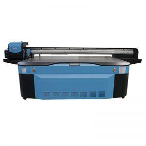 풀 컬러 CMYK LCLM 화이트 광택 UV 평판 프린터 3D WER-G2513UV