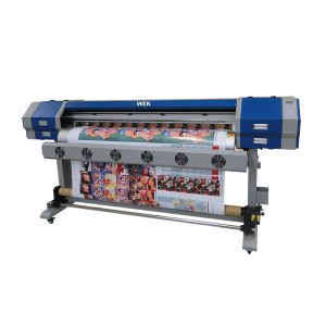dx5 또는 E5113 프린트 헤드가있는 디지털 섬유 프린터 e 제트 v22 v25 승화 기계 WER-EW160