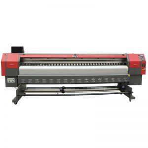 고속 3.2m 솔벤트 프린터, 디지털 플렉스 배너 인쇄 기계 가격 WER-ES3202