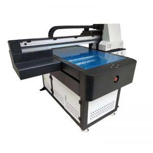 주도 UV 램프 6090 인쇄 속도와 고속 UV 플랫 베드 프린터 WER-ED6090UV